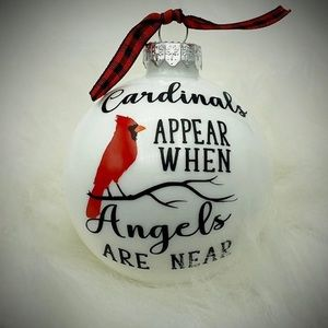 Cardinals appear when angels are near